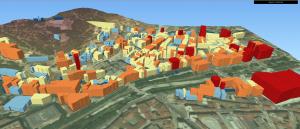 Geomática extrayendo la altura de los edificios a partir de datos LiDAR Alter Geosistemas