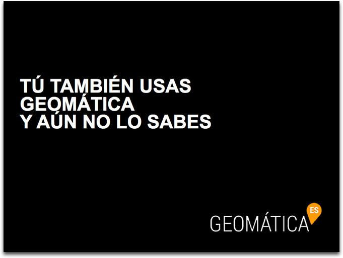 dossier qué es geomática