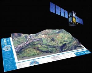 Geomática mapa de Oviedo