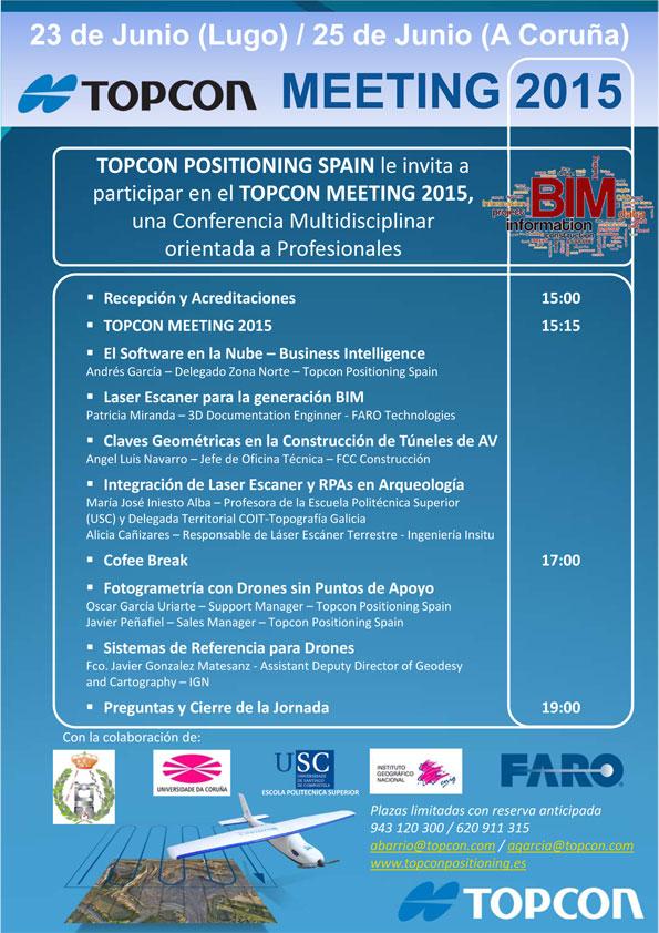 Topcon meeting Lugo
