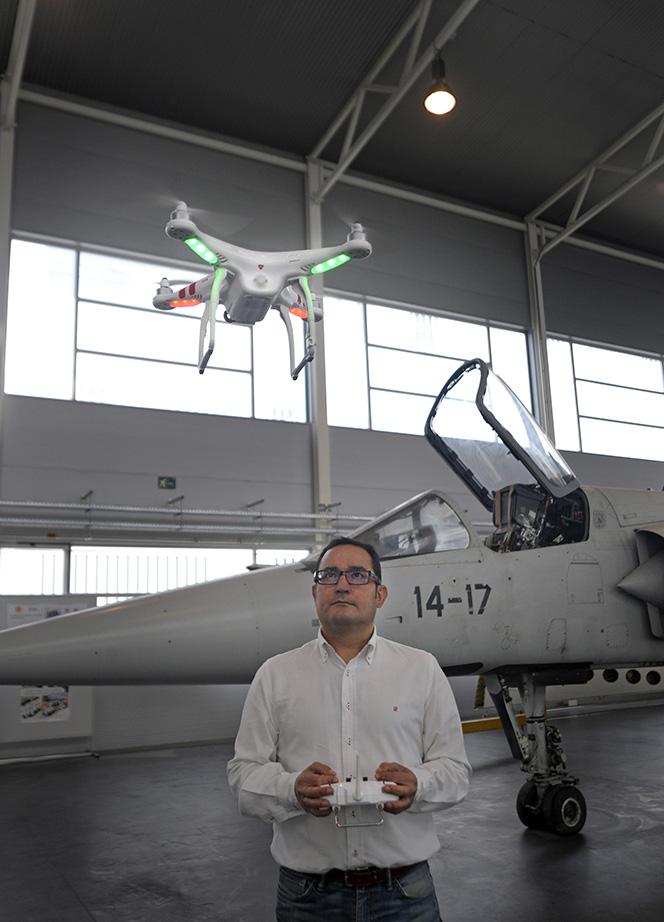 Israel Quintanilla - drones - congreso topcart