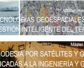 La Universidad de Jaén oferta dos másteres relacionados con la Geomática