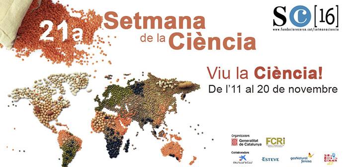 Geomática en la Setmana de la Ciència de Catalunya