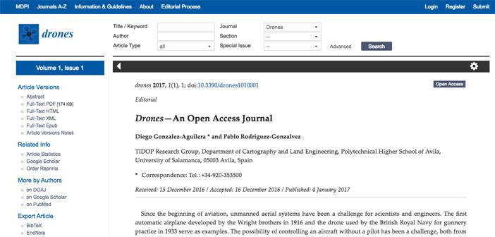 Revista drones