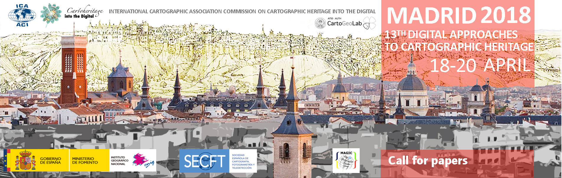 13º Conferencia Digital Approaches to Cartographic Heritage