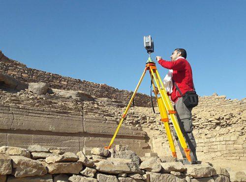 Geomática aplicada al proyecto Qubbet el-Hawa de la Universidad de Jaén