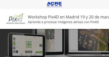 Curso de Pix4D organizado por ACRE