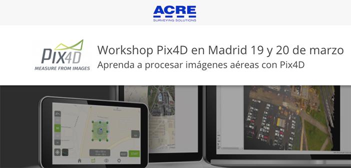 Aprende a procesar imágenes aéreas con Pix4D en el curso organizado por Acre Surveying Solutions