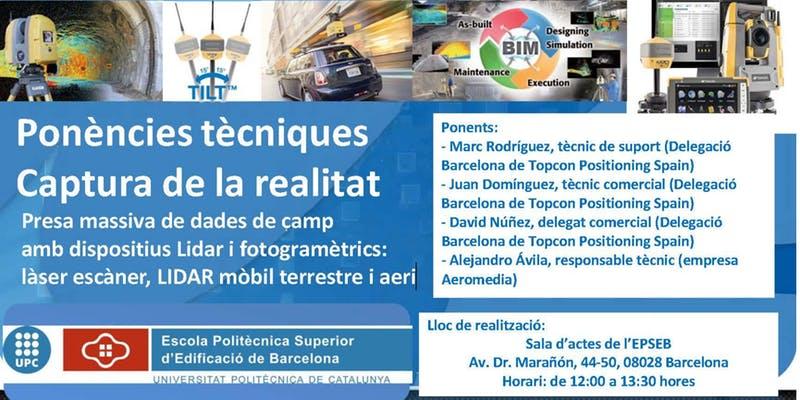 Ponencias técnicas Topcon Barcelona