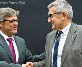 Convenio de colaboración entre el Colegio Oficial de Ingeniería Geomática y Topográfica y la Universidad de Oviedo