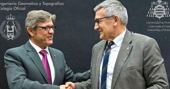 Convenio entre el COIGT y la Universidad de Oviedo