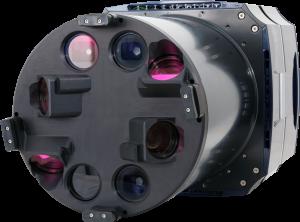cámara fotogrametría aerea