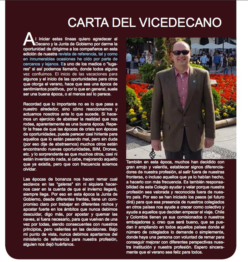 vicedecano COIGT