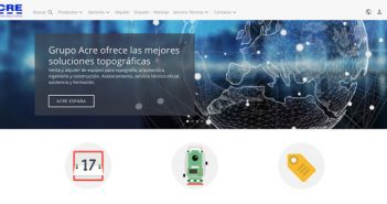 Nueva web de Acre Surveying Solutions