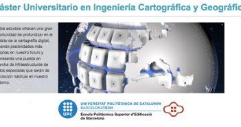 Máster universitario en ingeniería cartográfica y geográfica de la EPSEB