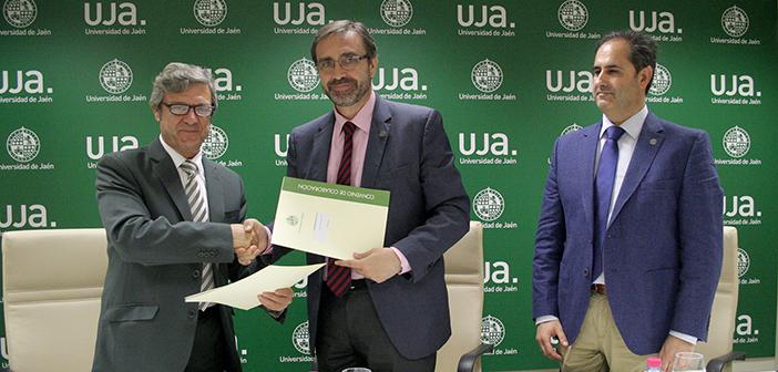 Universidad de Jaén convenio COIGT